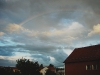 A dramatic sky outside my apartment, 2011-07-12.