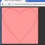 Drawing a HTML5 heart with Monkeybone